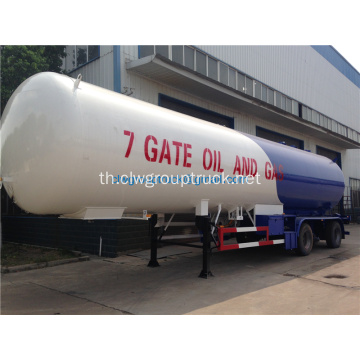 โรงงาน Semi 30tons Lpg Tank Trailer